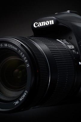 कैमरा 60 डी ब्लैक