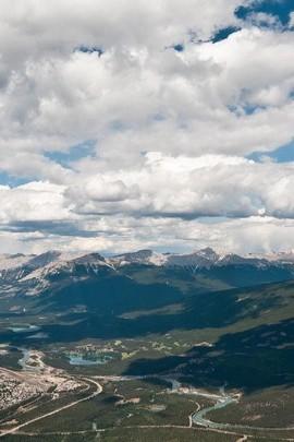 Top Sky view