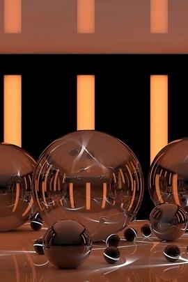 Sanat Topları Farklı Parlak Yansıma Bantları Neon Yüzey 68444 720x1280
