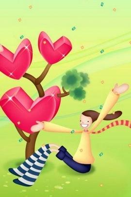 Fond Amour Couple Et Coeur (37)