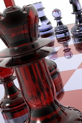 Chess Black Board Glass Collection 15062 720x1280