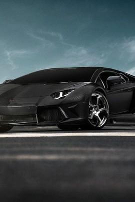 Sporty Black Car
