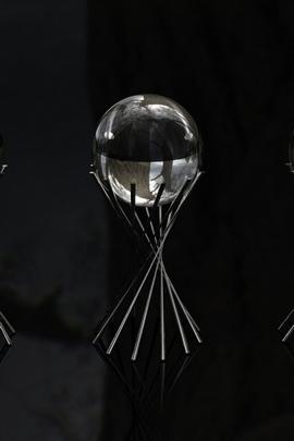 الكرة الزجاجية الشكل انعكاس معدن 9792 720x1280
