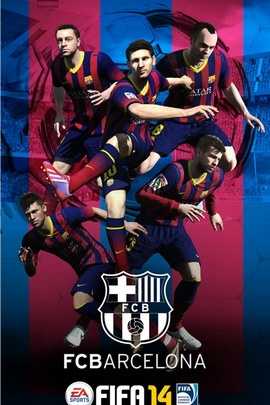 Messi FIFA 14 Barcelone