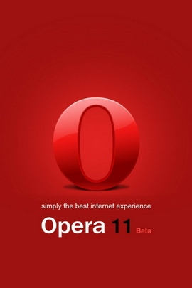 Browser Red Opera White 31064 720x1280