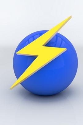 Ball Sign Arrow Lightning 36829 720x1280