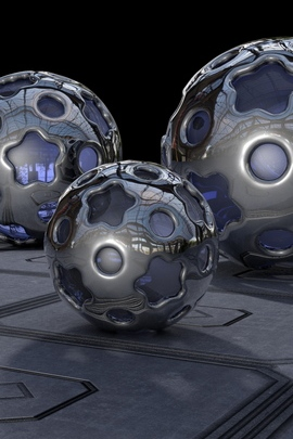 Balls Metal Glass 81355 720x1280