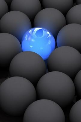 Toplar Karanlık Neon Işık Yüzey 95084 720x1280