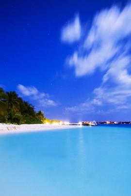 Calm Blueish Sea