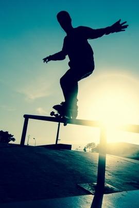 Skate Board Athlete