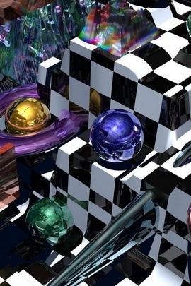 Balls Spheres 3D 76006 720x1280