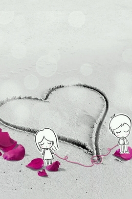 Fond Amour Couple Et Coeur (27)
