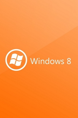 Windows 8 Orange White Circle 30956 720x1280