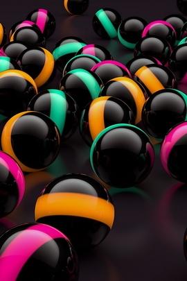 Balls Lights Glass 81362 720x1280