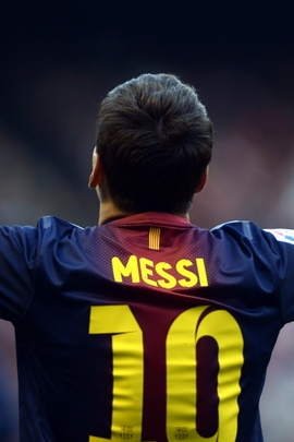 Lionel Messi Player Back Shirt 97205 720x1280