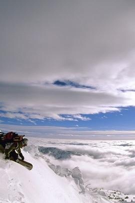 Extreme Descent عمودي على الجليد ارتفاع جبل الشخص 8796 720x1280