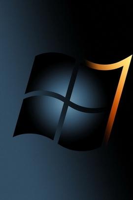 Windows 7 Gris Noir Jaune 33219 720x1280