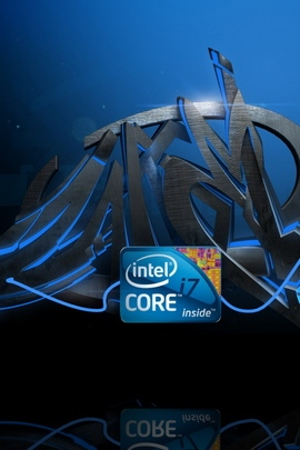Processor Logo Blue Black Lines Graffiti 27542 720x1280