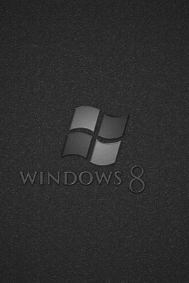 Windows 8 Os灰色黑色30957 720x1280