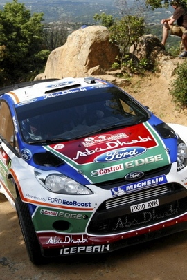 Rally Wrc Dust Fiesta Ford 81244 720x1280