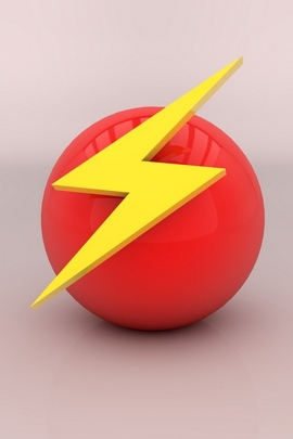 Arrow Mark Ball Background Bright Color 36828 720x1280