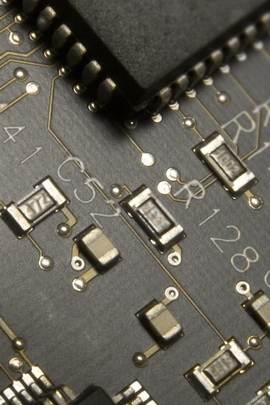 Circuit Paths Chips Black Pin 26298 720x1280