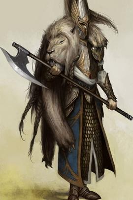 Whit Lion