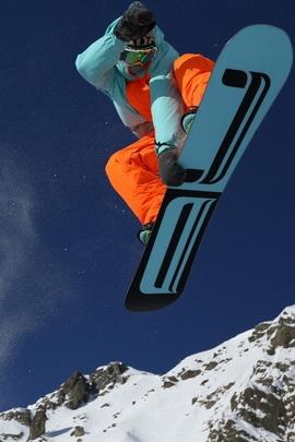 Snowboarding Mountain Snow 81261 720x1280