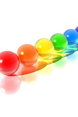 Balls Set Colorful Shape 60012 720x1280