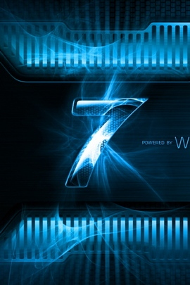 Windows 7 Blue Black Logo Light 27551 720x1280