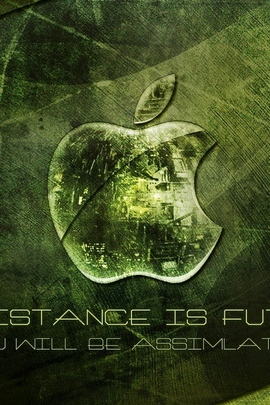 Mac Apple Green White Text 29678 720x1280