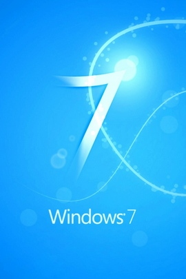 Windows 7 White Blue Line Light 33032 720x1280