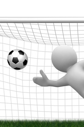 Clipart People Football Ball Goal Lawn 19518 720x1280