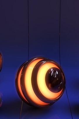 كرات ضوء سطح الخط خلفية 47705 720x1280