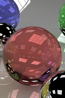 Balls Glass Colored 19935 720x1280