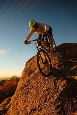 Mountain Bike Cyclist Man 76602 720x1280