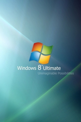 Windows 8 Ultimate Blue Green 30943 720x1280