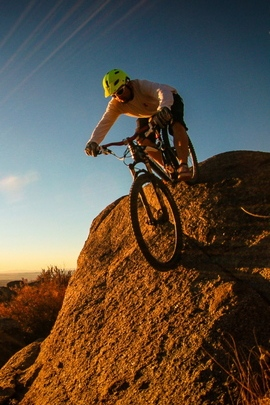 Man Mountain Bike Cyclist 81233 720x1280