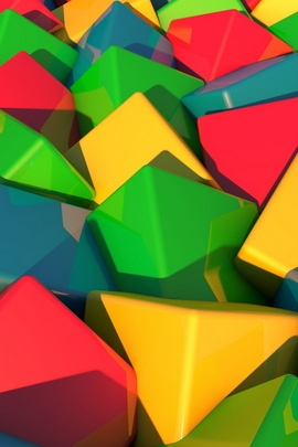Blocks Bright Multi Colored 86994 720x1280