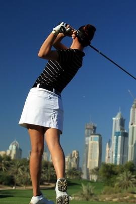 Sportswoman فتاة الجولف