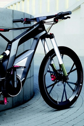 Sport Audi Grey Background Bicycling