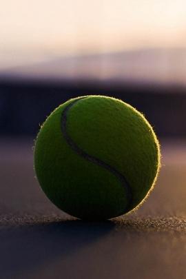 Piłka tenisowa Cień asfaltu
