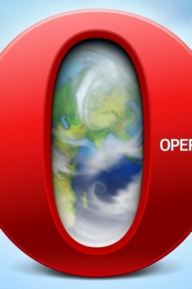 Browser Opera Windows Text Red Blue Planet 33038 720x1280
