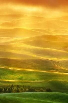 Colinas de areia