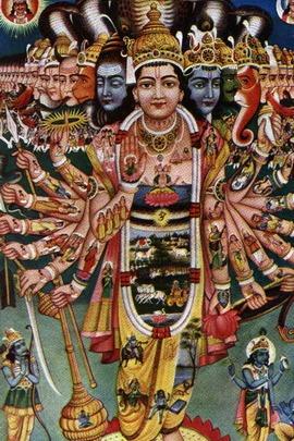 Vishnu Art Painting