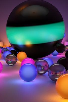 Balls Size Background 81365 720x1280