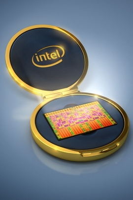 Intel Cpu Processor Gold Gray Light 26512 720x1280