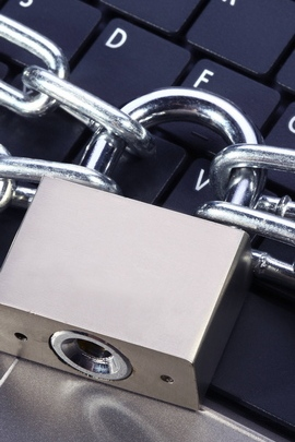Keyboard Lock Chain