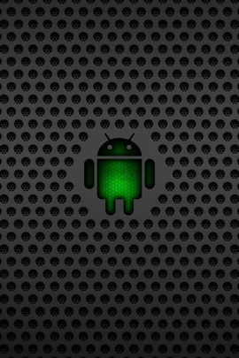 Android Operating System Os Green Black Mesh 30913 720x1280