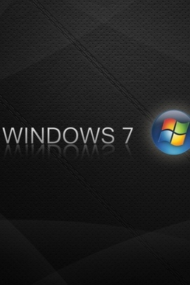 Windows 7 Logo Blue Orange Black 30901 720x1280